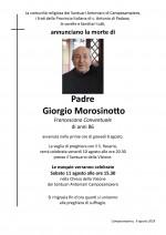 p. Giorgio Morosinotto