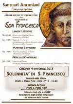 Poster S. Francesco 2018